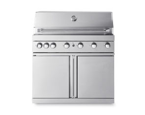 Free-stansding-lpg-grill